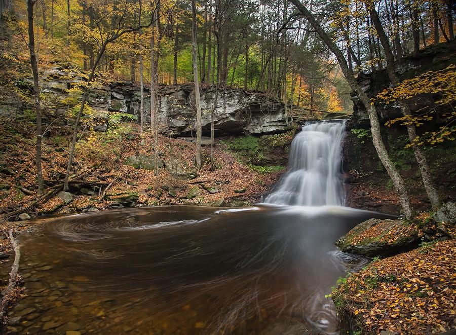 Sullivan Falls | Sullivan Falls is in Pennsylvania State Gam