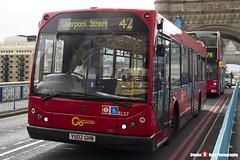 Scania N94UB East Lancs Myllennium - YU02 GHN - ELS7 - Go Ahead London London Central - Tower Bridge London - 140926 - Steven Gray - IMG_9996
