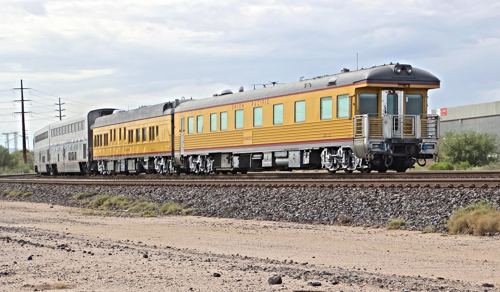 Union Pacific Business Cars Stanford And Sunset Trail Flickr