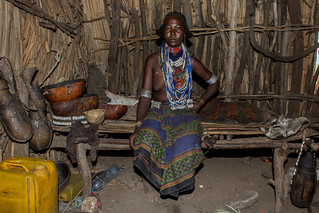 Arbore woman in her home | by Tanya R.