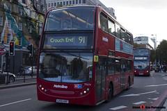 Alexander Dennis Trident Enviro 400 - LK55 KKF - TE674 - Metroline - King's Cross London - 140926 - Steven Gray - IMG_0331
