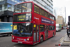 Dennis Trident 2 Alexander ALX400 - LX03 BTZ - 17755 - Stagecoach - London - 140926 - Steven Gray - IMG_0142