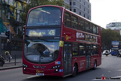 Volvo B9TL Wright Eclipse Gemini 2 - BL61 ADX - WVN52 - Go Ahead London London Central - King's Cross London - 140926 - Steven Gray - IMG_0319