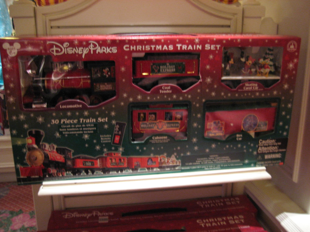129 by figgygirl disney parks christmas train set 129 by figgygirl - Disney Christmas Train