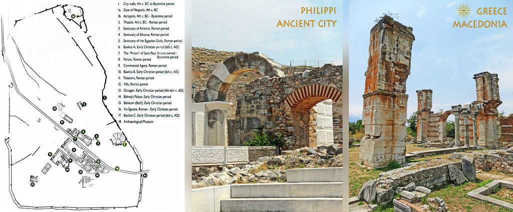 Macedonia map ruins of philippi ancient city greece flickr macedonia map ruins of philippi ancient city greece by macedonia travel publicscrutiny Gallery