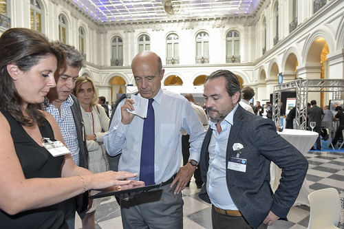 Alain Juppé, DIginext booth | by inspiriencethe3d