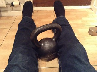 Kettle bell in the kitchen | by gordongrant1