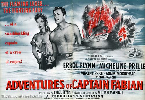Adventures of Captain Fabian - Poster 1