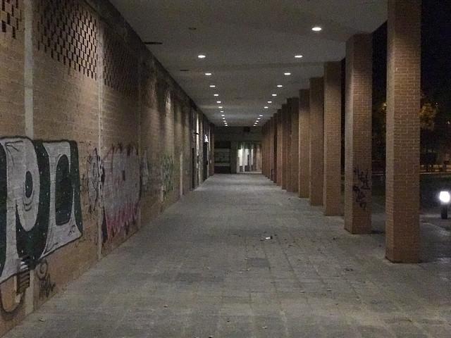 Foto nocturna captada con la segunda cámara del iPhone 7 Plus.