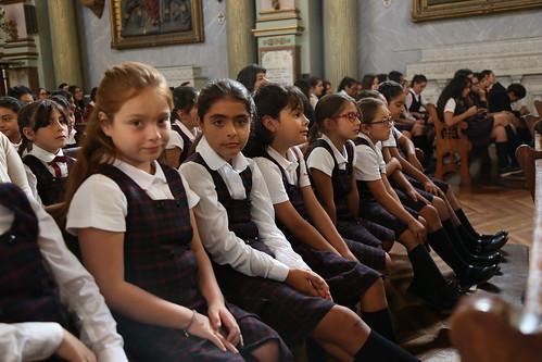 Eucaristía inicio año escolar 2017