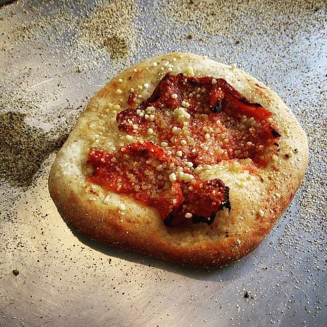 Tomato Confit Mini Pizza