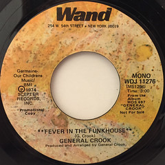 GENERAL CROOK:FEVER IN THE FUNKHOUSE(LABEL SIDE-B)
