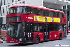 Wrightbus NRM NBFL - LTZ 1032 - LT32 - Metroline - London 2017 - Steven Gray - IMG_9192