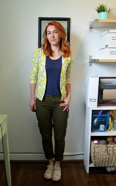 Morgan Jeans + Cabernet Cardi
