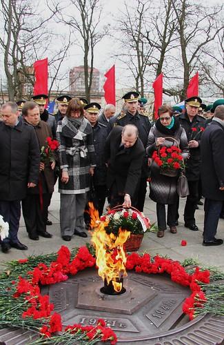9 апреля 2017 г. Возложение цветов и венков в память о 72-ой годовщине штурма Кёнигсберга
