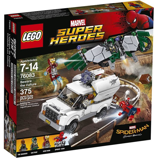 LEGO Spiderman Homecoming 76083 Beware The Vulture