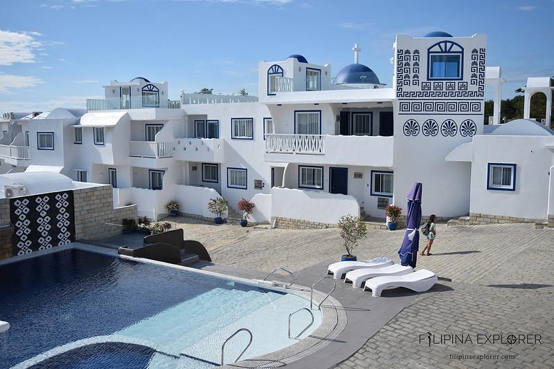 Vitalis White Sands, A greek-themed resort at Sabangan Beach