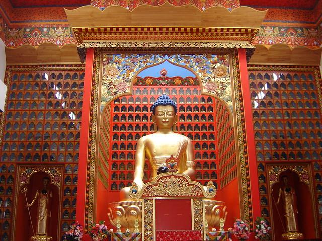 Karmapa Temple Auvergne