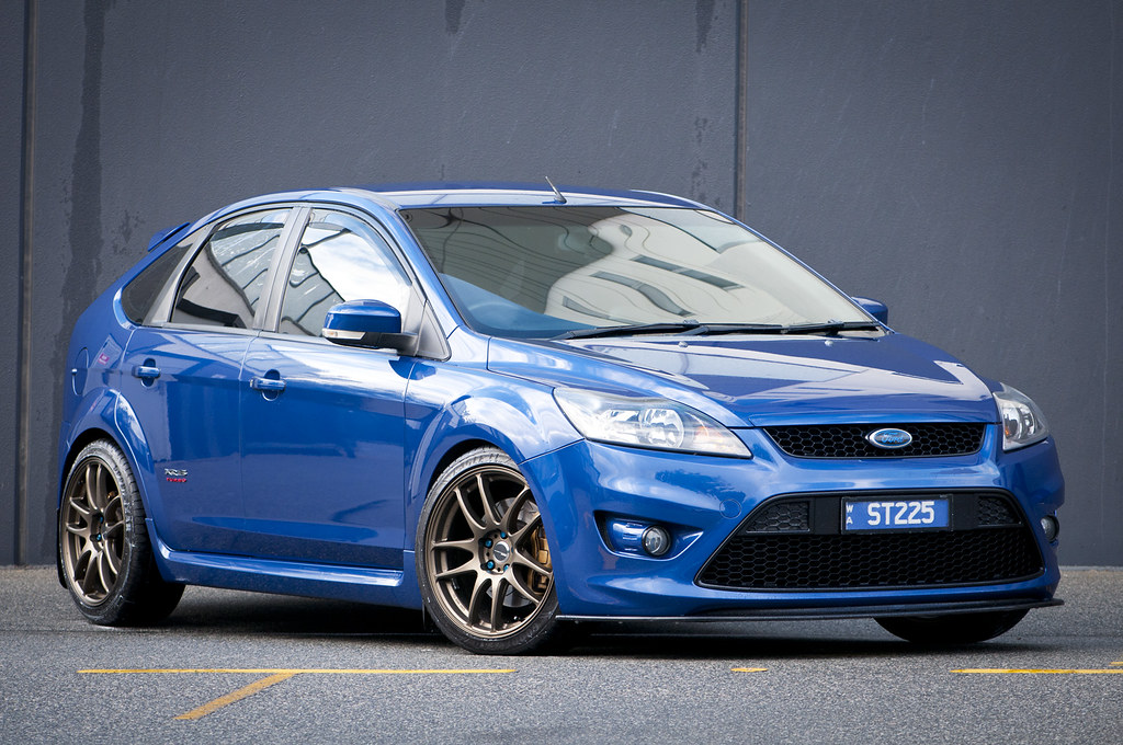 ford focus xr5 turbo | work emotion equipped ford focus xr5