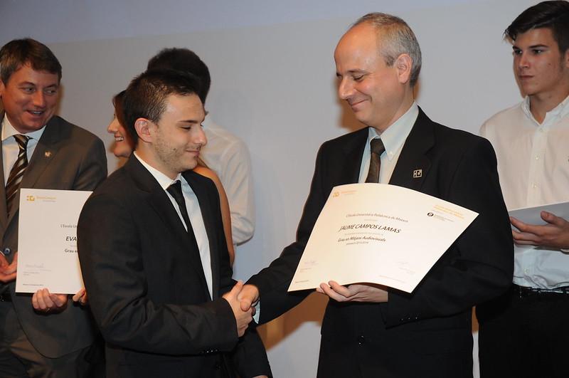 Acte de graduació de l'Escola Superior Politècnica de Mataró