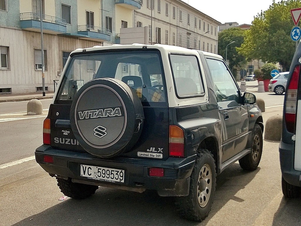 Suzuki Vitara Cabriolet 16 JLX 1990
