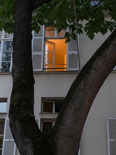 Fen tre sur cour paris place furstenberg christian for Fenetre sur cour