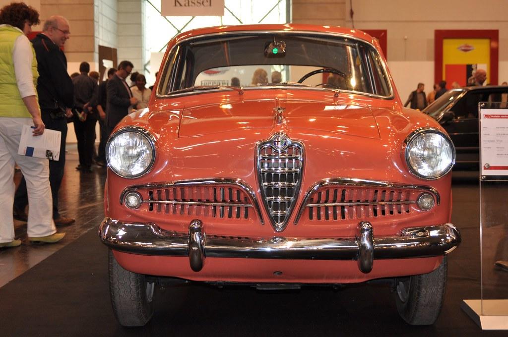 Alfa Romeo Giulietta Berlina 1955 1290 Cc Twin Cam Flickr