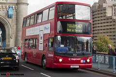 Dennis Trident 2 Alexander ALX400 - LX55 EPO - 18464 - Stagecoach - Tower Bridge London - 140926 - Steven Gray - IMG_0003