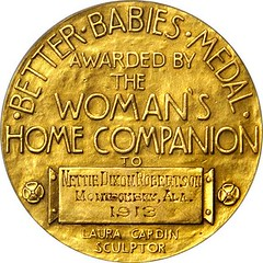 1913 Better Babies Medal reverse - Copy