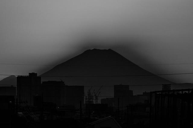 20170226_01_sun setting to Mt. Fuji_4/4