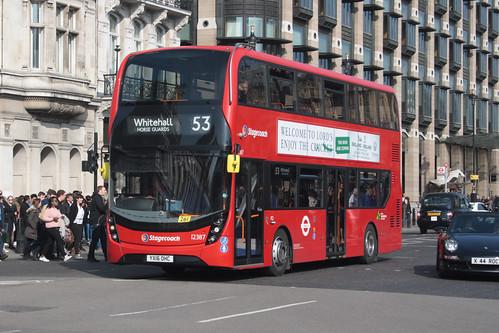 Stagecoach London 12387 YX16OHC