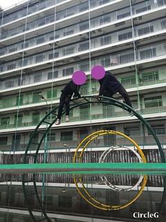 CIRCLEG 遊記 香港 石峽尾 南山邨 天空之鏡 倒影 特色邨屋 彩虹  (20)