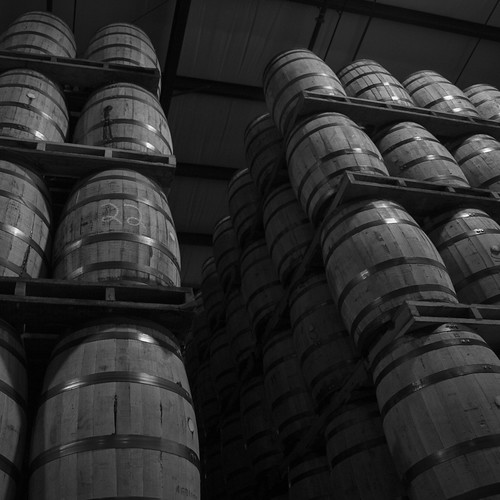 Jim Beam Barrels