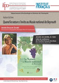 Quand la nature s'invite au Musée national de Beyrouth