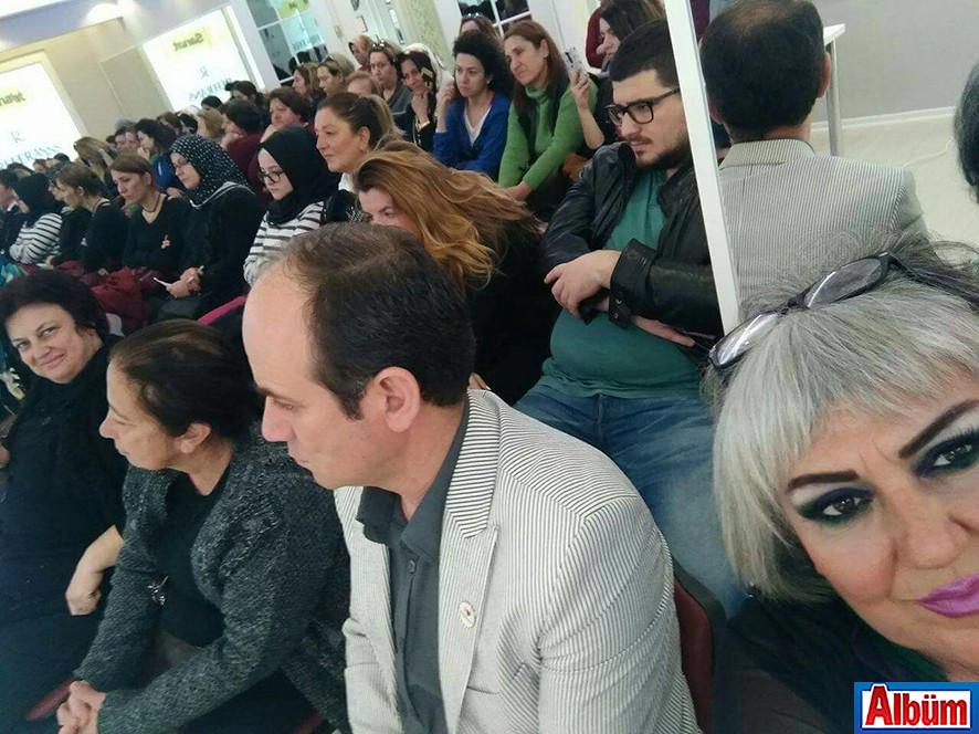 Referans Kulüp'te seminer vardı ( Deniz Egece Değişim Sohbeti)5