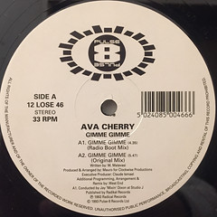 AVA CHERRY:GIMME GIMME(LABEL SIDE-A)