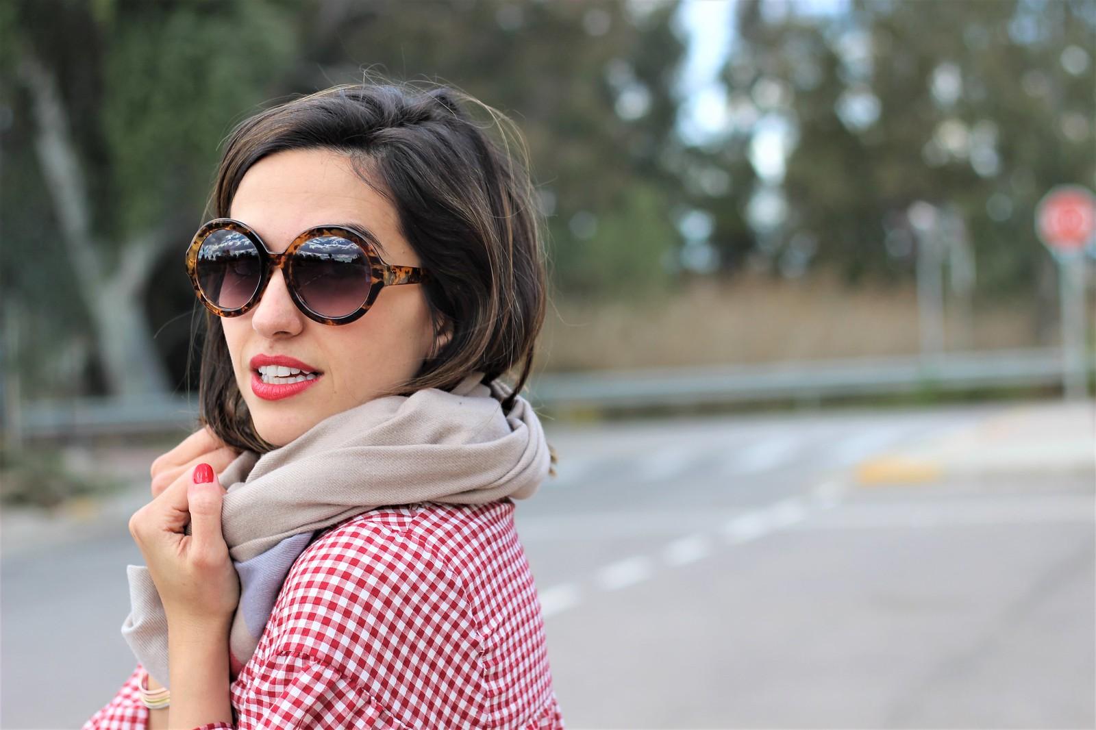 Look cuadros vichy rojo_ Rojo Valentino Blog (44)
