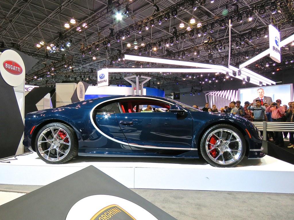 Bugatti Chiron NYIAS 3
