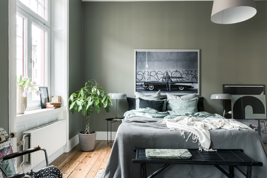 Retro Scandinavian Apartment