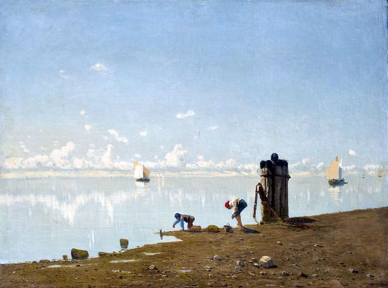 Guglielmo Ciardi - Veduta sulla laguna