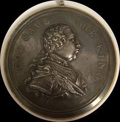 George III Medal Obverse
