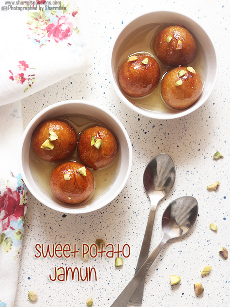 Sweet potato jamun recipe