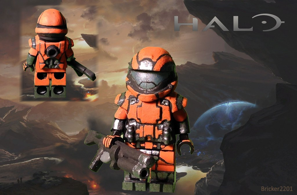 Lego halo odst custom minifig a custom minifig from bungie flickr lego halo odst custom minifig by bricker2201 publicscrutiny Image collections