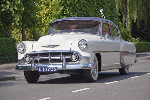 Chevrolet bel air 2400c 4 door sedan 1953 1351 for 1953 chevrolet belair 4 door sedan