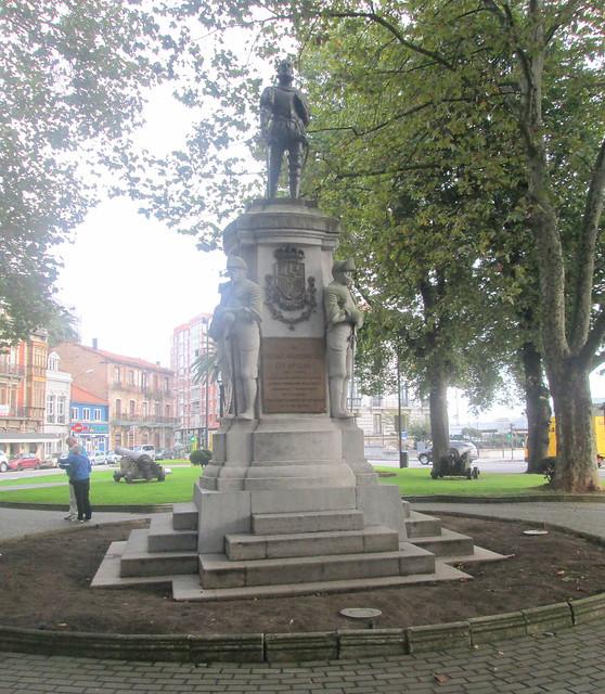 A Statue in Avilés