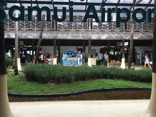 今日のサムイ島 3月3日 サムイ空港到着ターミナルでSIMカード買えます