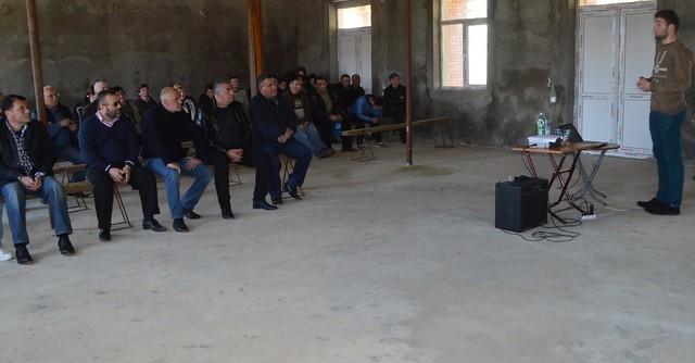 სოფელ  გორაბერეჟოულში  დასახლების საერთო კრება გაიმართა