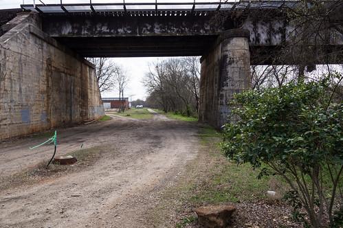 South side railroad ROW - 2