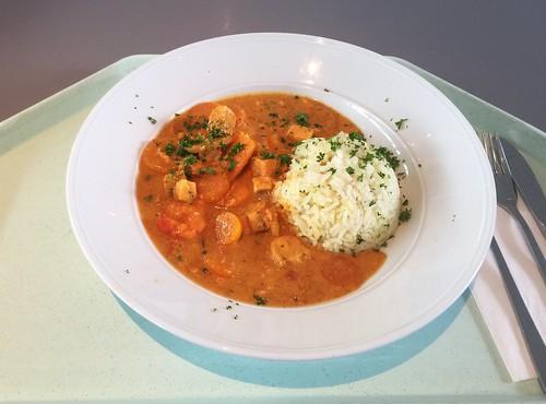 Fish tandoori / Fischpfanne Tandoori