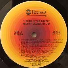 THE MIGHTY CLOUDS OF JOY:TRUTH IS THE POWER(LABEL SIDE-A)